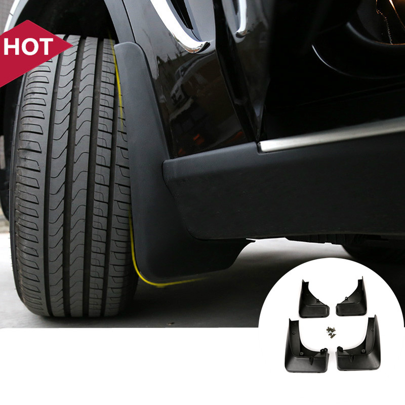 ФОТО 4pcs Mud Flaps Splash Guards For BMW X5 F15 2014-2015 With Running Board