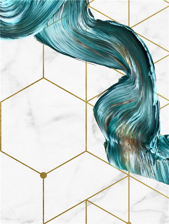 Nordic-Decorative-Abstract-Marble-With-Blue-Gold-Paint-Canvas-Painting-Poster-And-Print-Picture-Wall-Art (3)