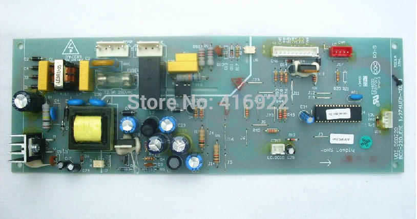 все цены на 95% new Original good working refrigerator pc board motherboard for Midea bcd-276uem-md  bcd-283utm on sale онлайн