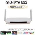 Caixa de IPTV Arábica livre UIDTV 1300 Mais Canais Europa IUDTV Frete rápido grátis Sem remuneração mensal Android 4.4 WiFi HDMI Smart TV Box
