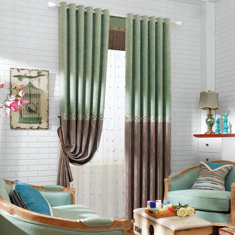 chenille shading cortina dormitorio sala de estar balcn de lujo de europa tipo de persianas cortinas