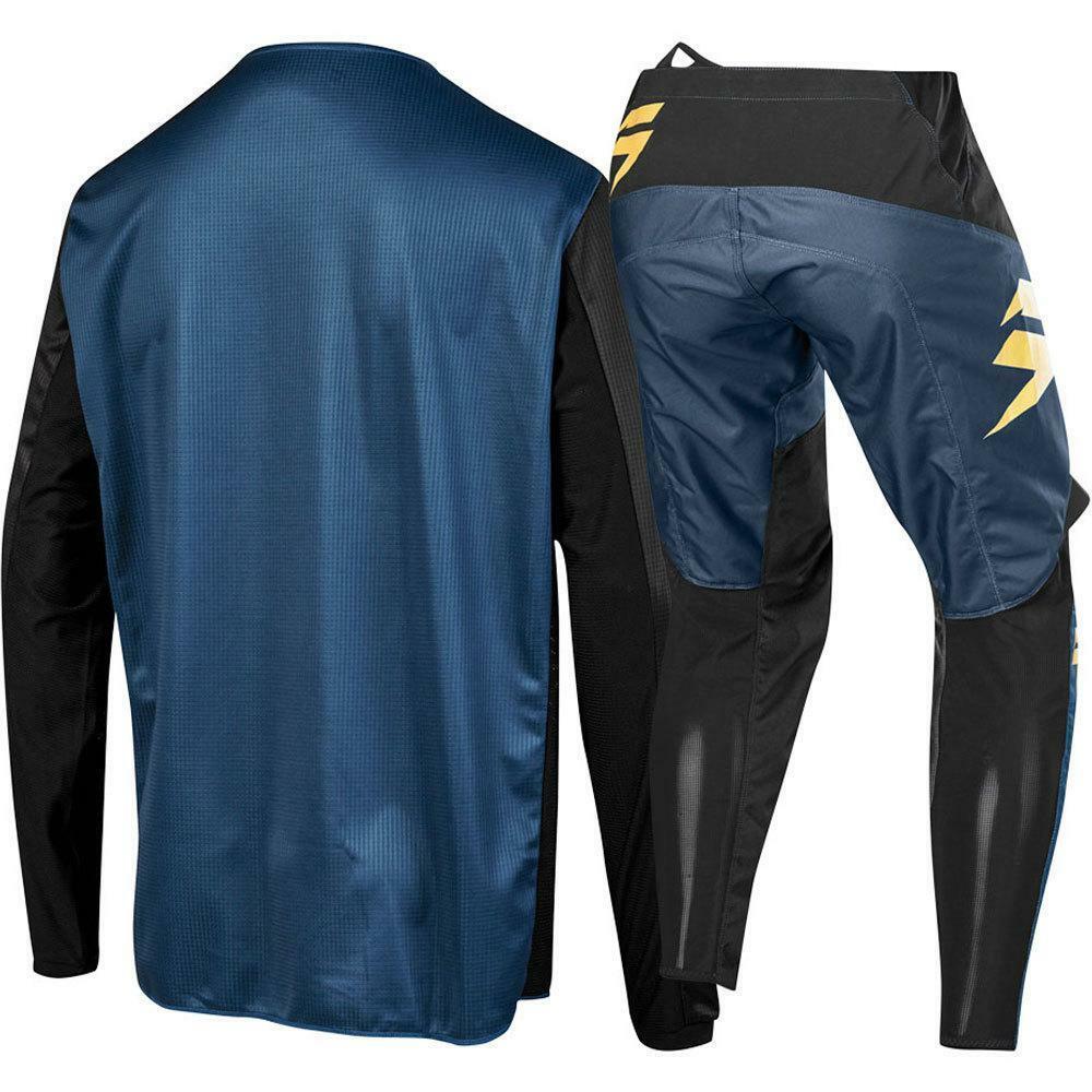 2019 NEW MX WHIT3 Label Gray Jersey Pants Adult Motocross Gear Set Motobiker Racing Gear Combination