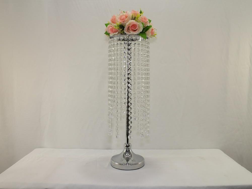 26 3 H Wedding Acrylic Crystal Table Flower Stand Wedding