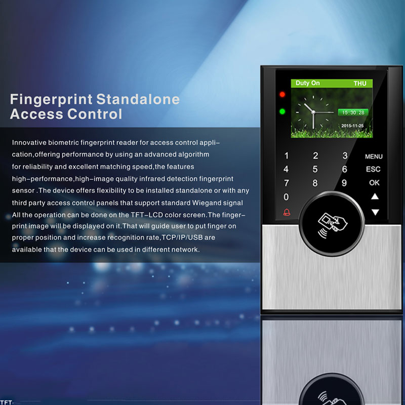 Biometric Time Attendance System TCPIP Access Control USB Employee Office Attendance Time Clock Card&Password Electronic Machine стоимость