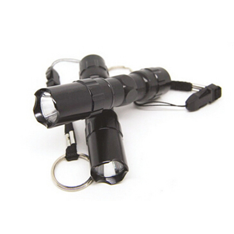 Высококачественные <font><b>linternas</b></font> Мини Черный светодиодный фонарик Водонепроницаемый светодиодный фонарик вспышка свет велосипеда Бесплатная дос&#8230;