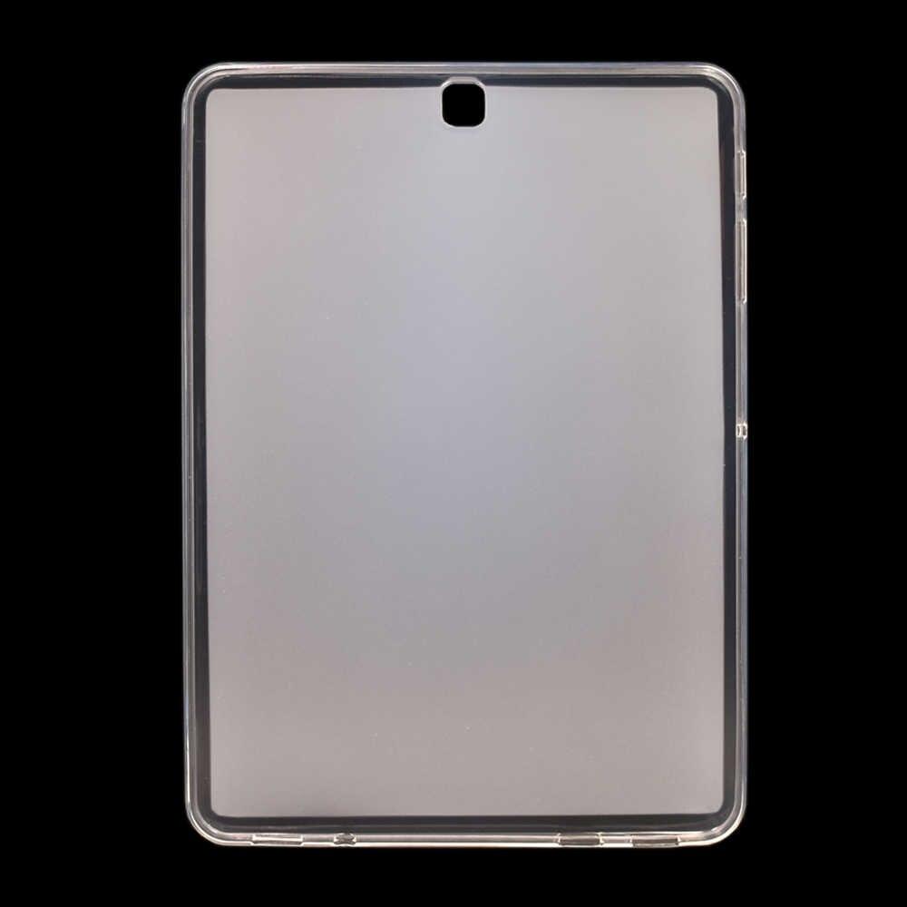 Silikon Soft Cover untuk Samsung Galaxy S S2 S3 S4 S5e S6 Lite 10.5 10.4 9.7 8.0 T860 T810 T820 t830 T720 T710 P610 Case Funda