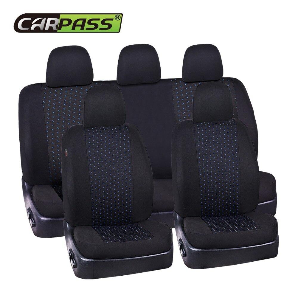 Housse de siège Auto universelle de haute qualité passe-partout pour la plupart des housses de siège de voiture de style protecteur de siège en éponge Composite 5 MM