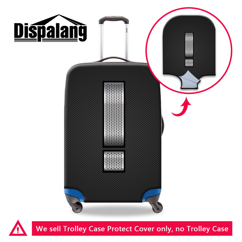 -1 Exclamation point Dispalang Exclamation Point Printed Luggage Protective Covers For 18-30 Inch Suitcase Dust Rain Cover For Travel Trolley Case