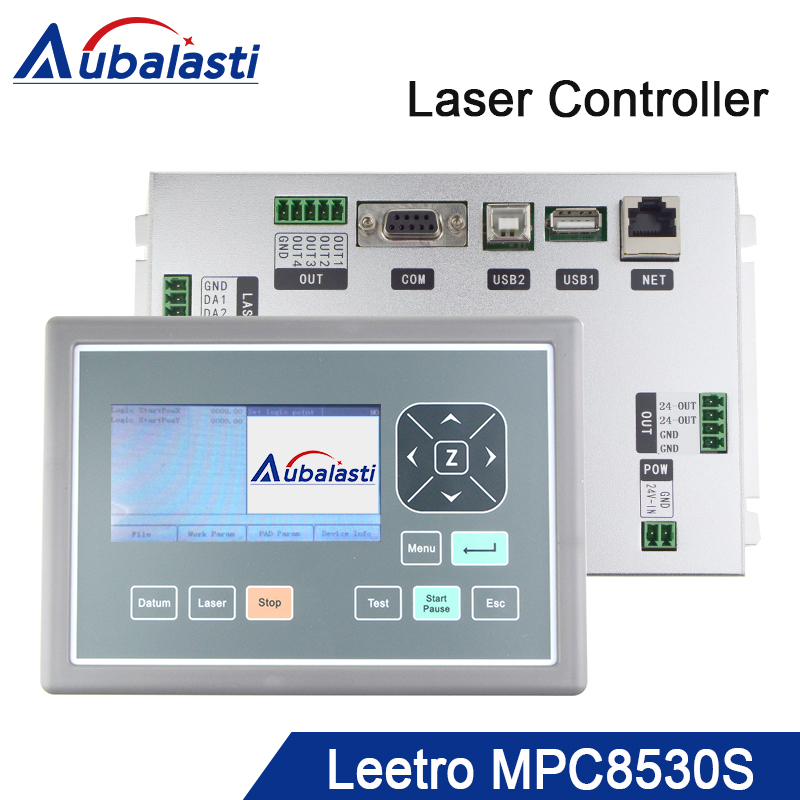 latest version Leetro MPC 8530S Laser Controller DSP Motion Control System Board Motherboard replace older version MPC 6585