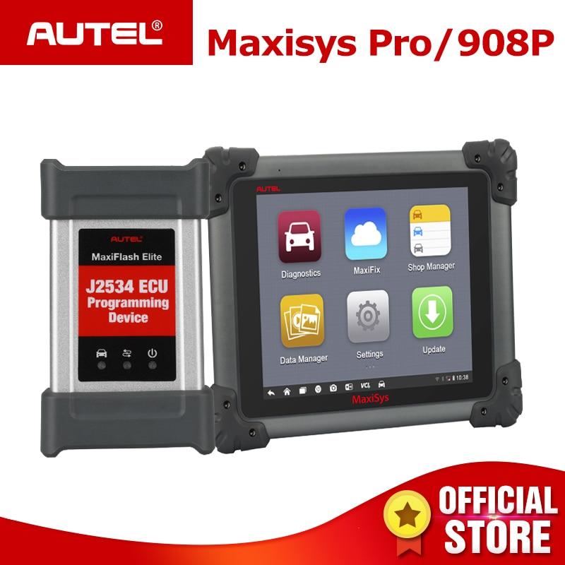 Autel Maxisys Pro MS908P Automotive Diagnostic Scanner With ECU Coding and J2534