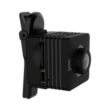 SUNLUXY Portable Body Camera Wearable Infrared Security Camera IR-Cut Night Vision Laser Positioning Action Camera