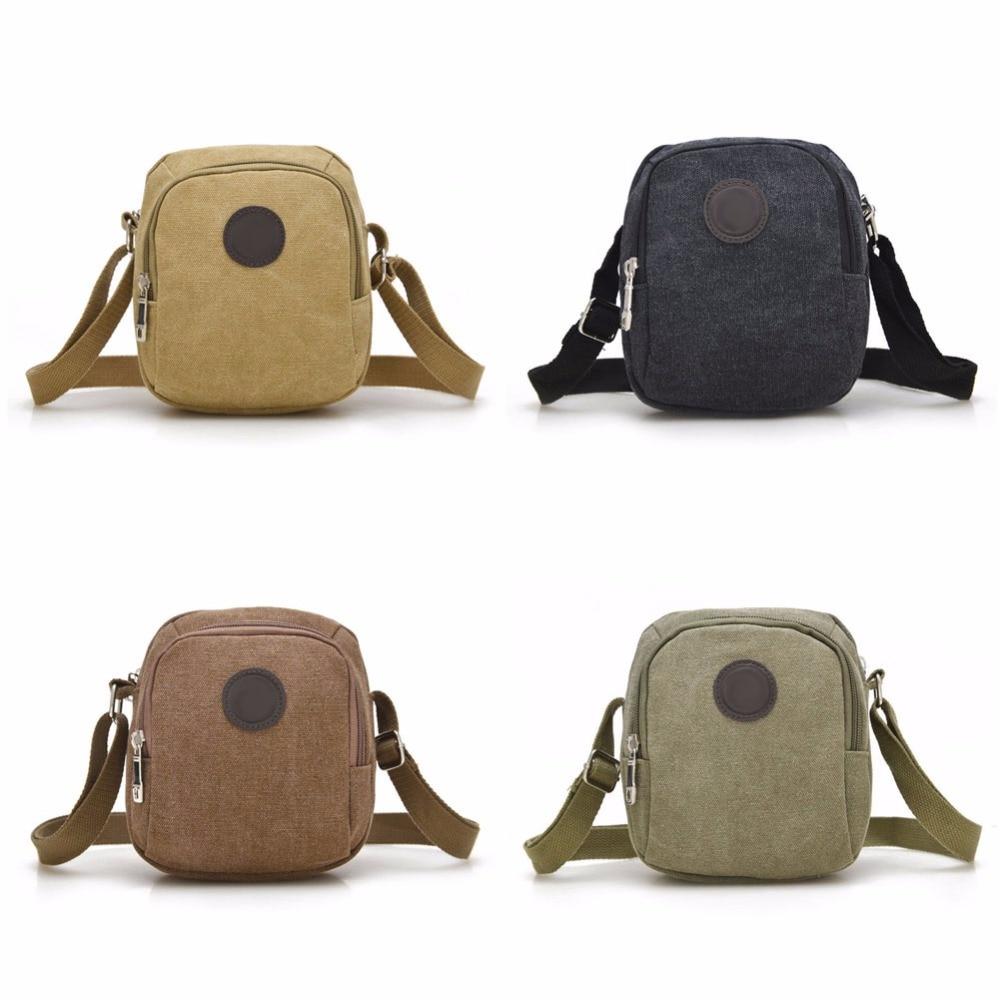 Vintage Canvas Men's Crossbody Over Shoulder Messenger Bags Handbag Leisure Travel Bag AGD Women bag