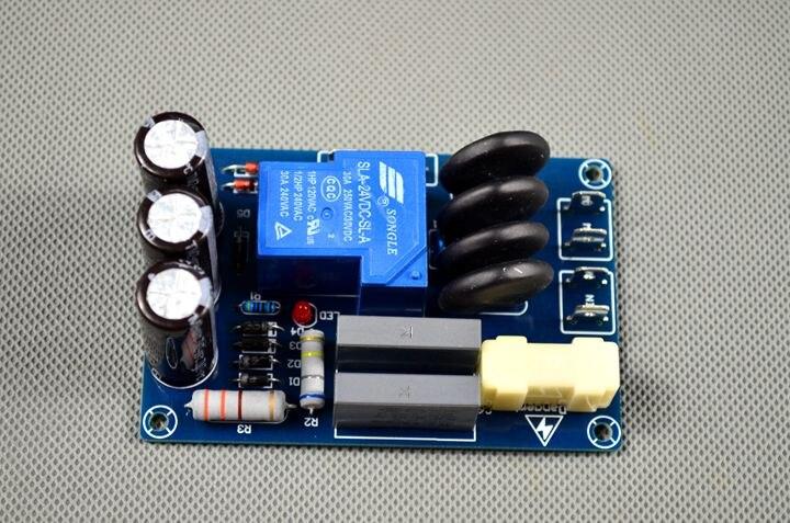 Acheter Soft start puissance amplificateur conseil kit pièces un démarrage en douceur puissance amplificateur HIFI amplificateur de puissance conseil pièces ont de la fièvre de parts fiable fournisseurs