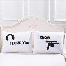 Cute Design Gunman Pillowcase Fashion White Couple Gift Pillow Cover 50x75cm/50x90cm Size Cotton Soft Pillow Sham Drop Shipping & Compare Prices on Designer Pillow Shams- Online Shopping/Buy Low ... pillowsntoast.com