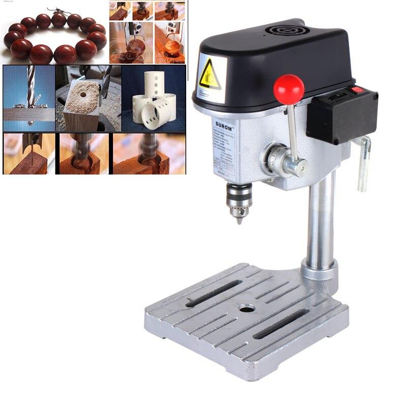 Mini precision high-speed bench drill Drilling milling machine Buddha beads machine amyamy mini drill press bench small drill machine work bench eu plug 580w 220v 5169a