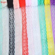 10 Yards Beautiful Lace Ribbon, 22 mm Wide/ DIY Jewelry/ Clothing/ Wedding Decorations/Christmas Decorations