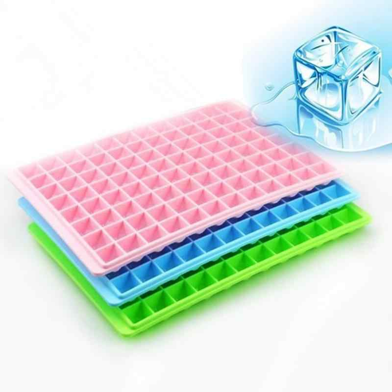 Mini Creative Plastic Summer Ice Making Cube Mold Trays Cool Ice Square Mould 18Cubes 96Cubes Candy Color