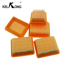 KELKONG 1 Pc Air Filter For Stihl Carburetor  FS120 FS200 FS250 FS300 FS350 FS400 FS450 Trimmer Chainsaw carburetor ignition coil module kit fit stihl fs300 fs350 fs120 fs200 fs250 fs250 r fs020 fs202 ts200 trimmer weedeater cutters