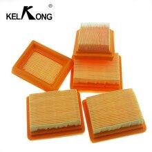 KELKONG 1 قطعة فلتر الهواء ل Stihl المكربن FS120 FS200 FS250 FS300 FS350 FS400 FS450 الانتهازي بالمنشار