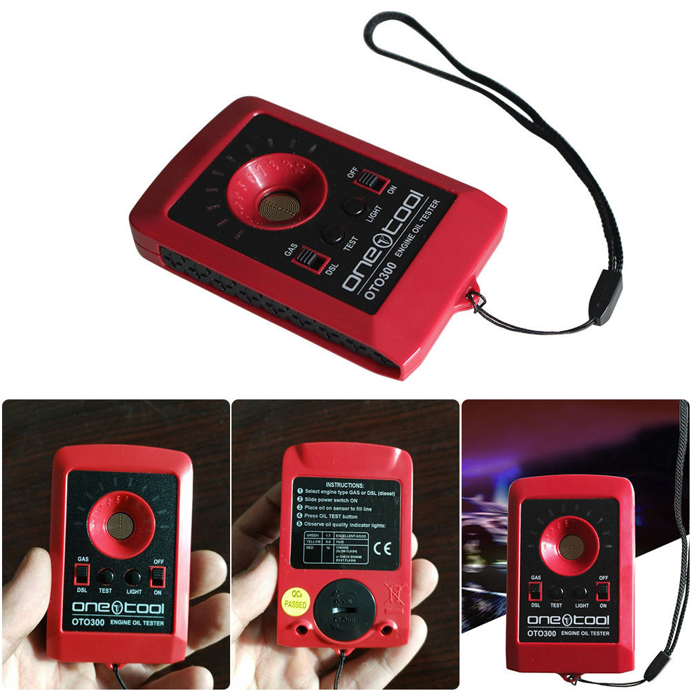 Oto300 Motor Engine Oil Tester For Trucks Tractors Boats Mowers Atvs Motorcycles Any Gas Diesel Four Stroke Engine