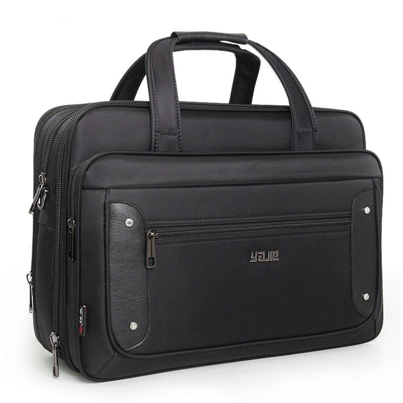 남자 슈퍼 용량 플러스 비즈니스 남자 서류 가방 여자 핸드백 노트북 가방 16 17 19 인치 옥스포드 크로스 바디 여행 가방