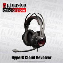 Kingston HyperX Cloud Revolver Headphones Studio-grade sound stage lets you hear further Gaming Headset for FPS kingston hyperx cloud revolver black игровая гарнитура