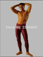 (LG37) Unisex Lycra Spandex Tights Solid Color Opaque Zentai Legging Fetish Wear Customize Size