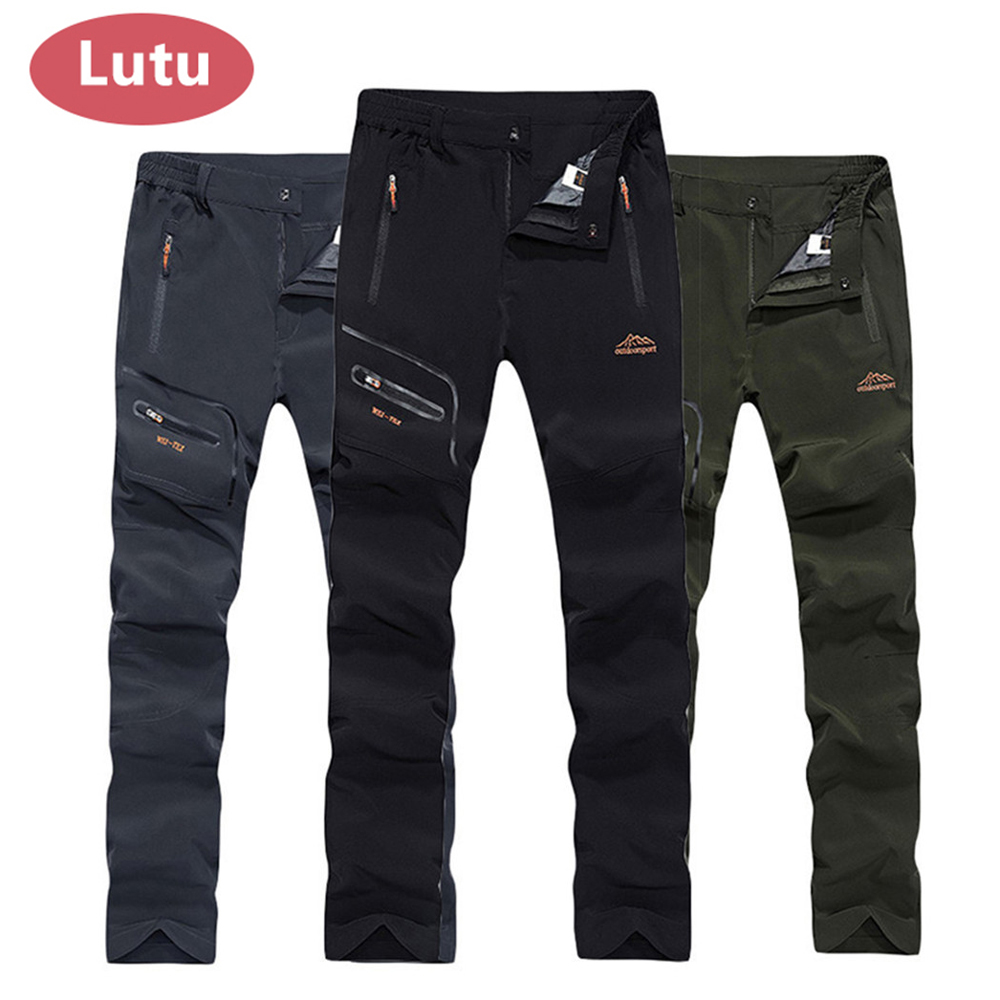 LUTU Thin hiking pants men Sports pants quick dry breathable outdoor trousers women waterproof mountain trekking pant цена