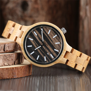 Image 5 - แฟชั่นผู้หญิงนาฬิกาธรรมชาติไม้ไม้ไผ่ไม้นาฬิกาสุภาพสตรีสร้อยข้อมือนาฬิกาข้อมือควอตซ์ Analog นาฬิกา Relojes