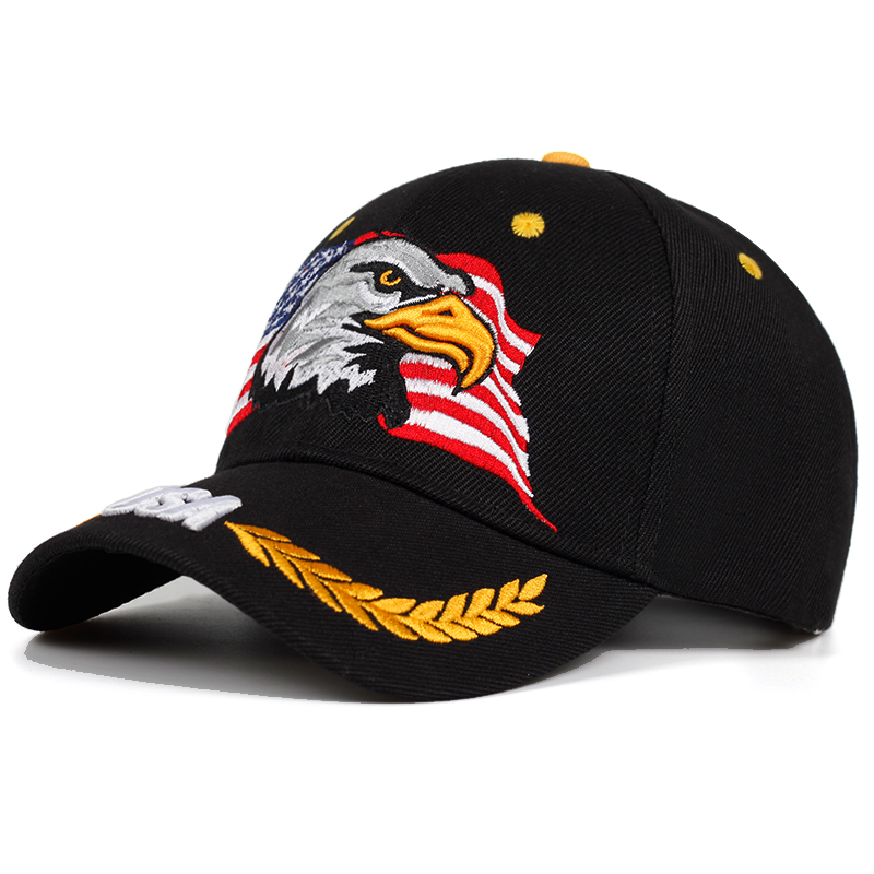 2019 Spring Summer Baseball Caps For Men Outdoor Sun Hat Women Embroidery Eagle USA Sports Hats Curved Casquette Cap