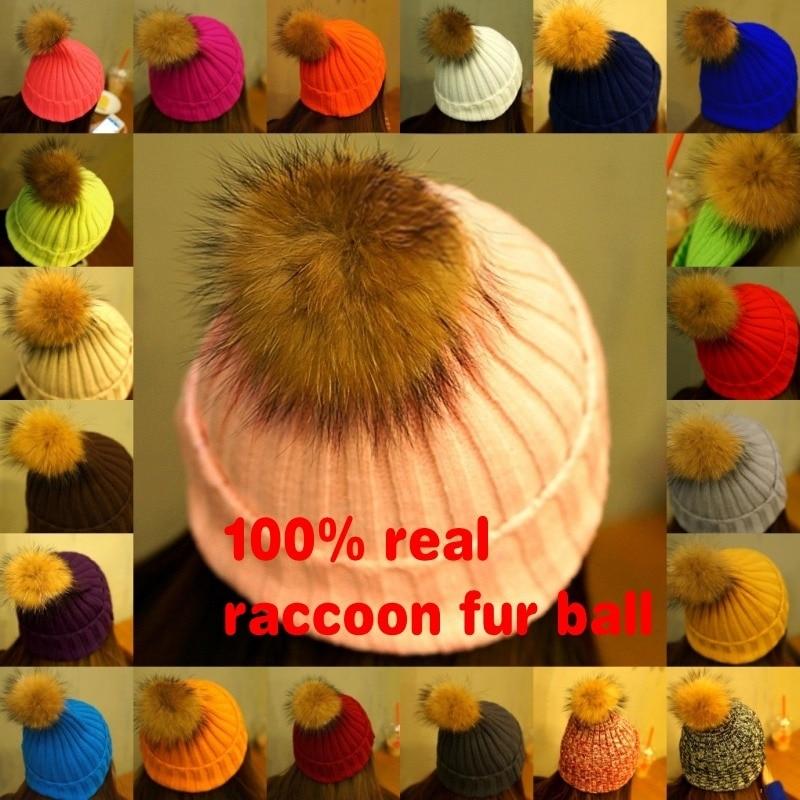 LAURASHOW Új kötött kalap, 20 színű, mosómedve, minimál, - Ruházati kiegészítők