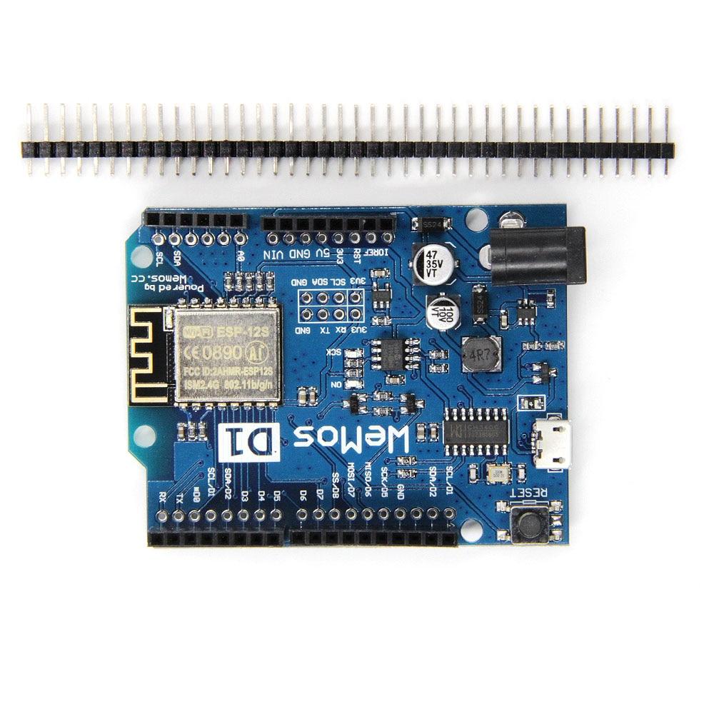 1PCS New WeMos D1 R2 WiFi uno based ESP8266 for arduino nodemcu ESP-12S Compatible