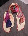 2017 Новая Мода Дамы Большой Косынка Отпечатано Женщины Марка Обертывания Горячей Продажи дамы Зимой Шарфы хлопка индии floural оголовье