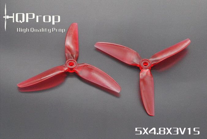 HQProp Propeller 5″*4.8″*3″-V1S, CW CCW, Mini Drone, FPV racing, Multicopter, 25 Sets per lot, Free Shipping