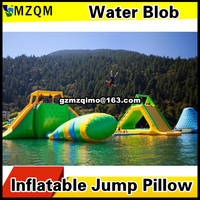 Free Shipping 10x3m Inflatable Water Blob Jumping Pillow Blob Catapult Inflatable Jumping Pillow Water Trampoline With a Pump