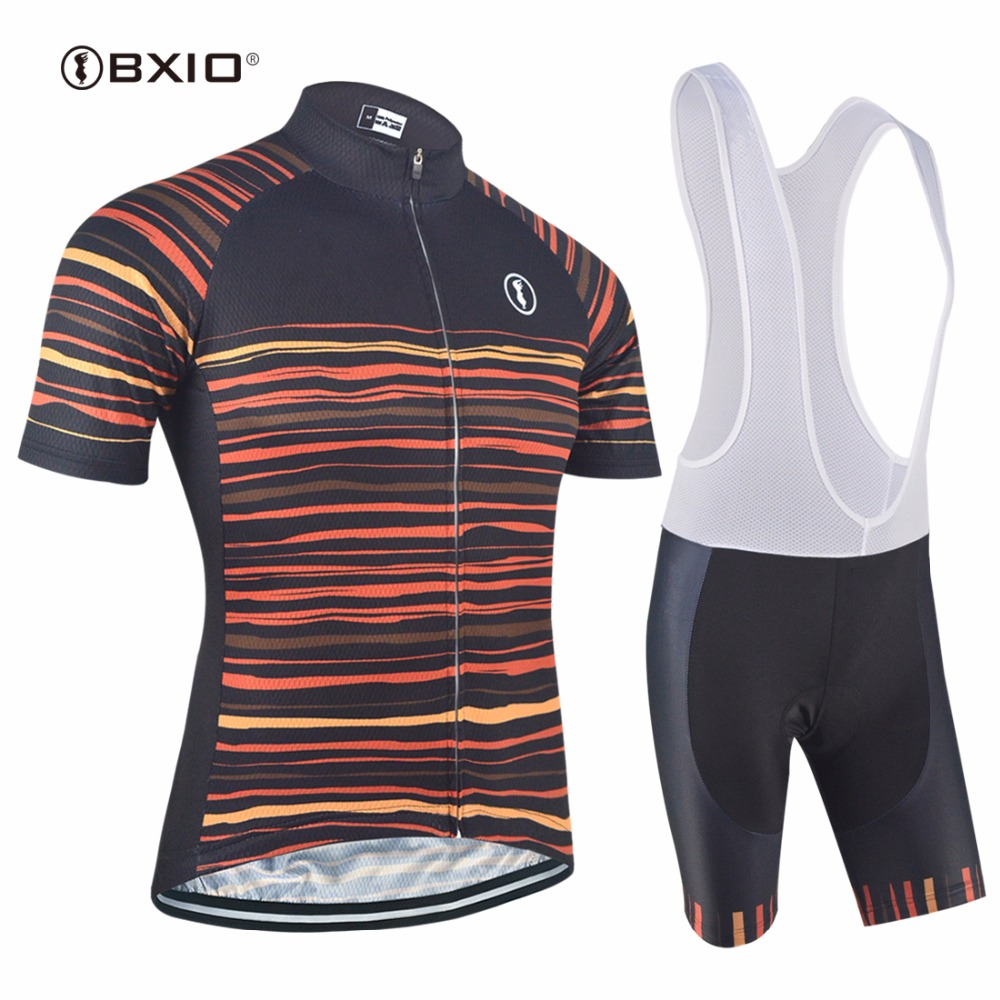 BXIO Cycling Clothing Summer Bike Jerseys Mens Bicycle Wear Brand Design Pro Team Road Cycle Uniform Stock Items 150