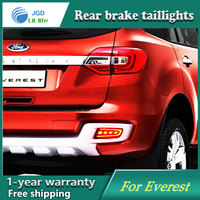 Car Styling Rear Bumper LED Brake Lights Warning Lights Case For Ford Everest 2016 2017 Tail