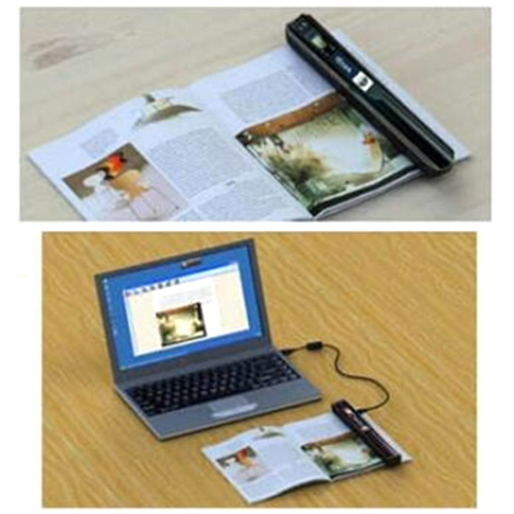 Mini Scanner Portátil A4 Livro Scanner Venda Quente