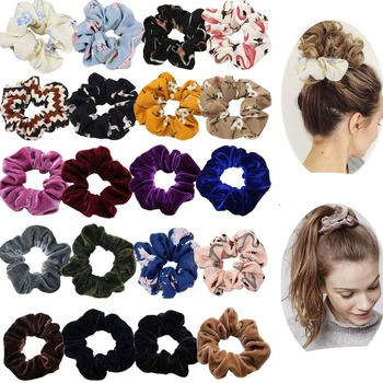 20 Pack Hair Scrunchies Ponytail Holder Elastic Bands Ties for Women Girls Teens Accessories - discount item  5% OFF Headwear