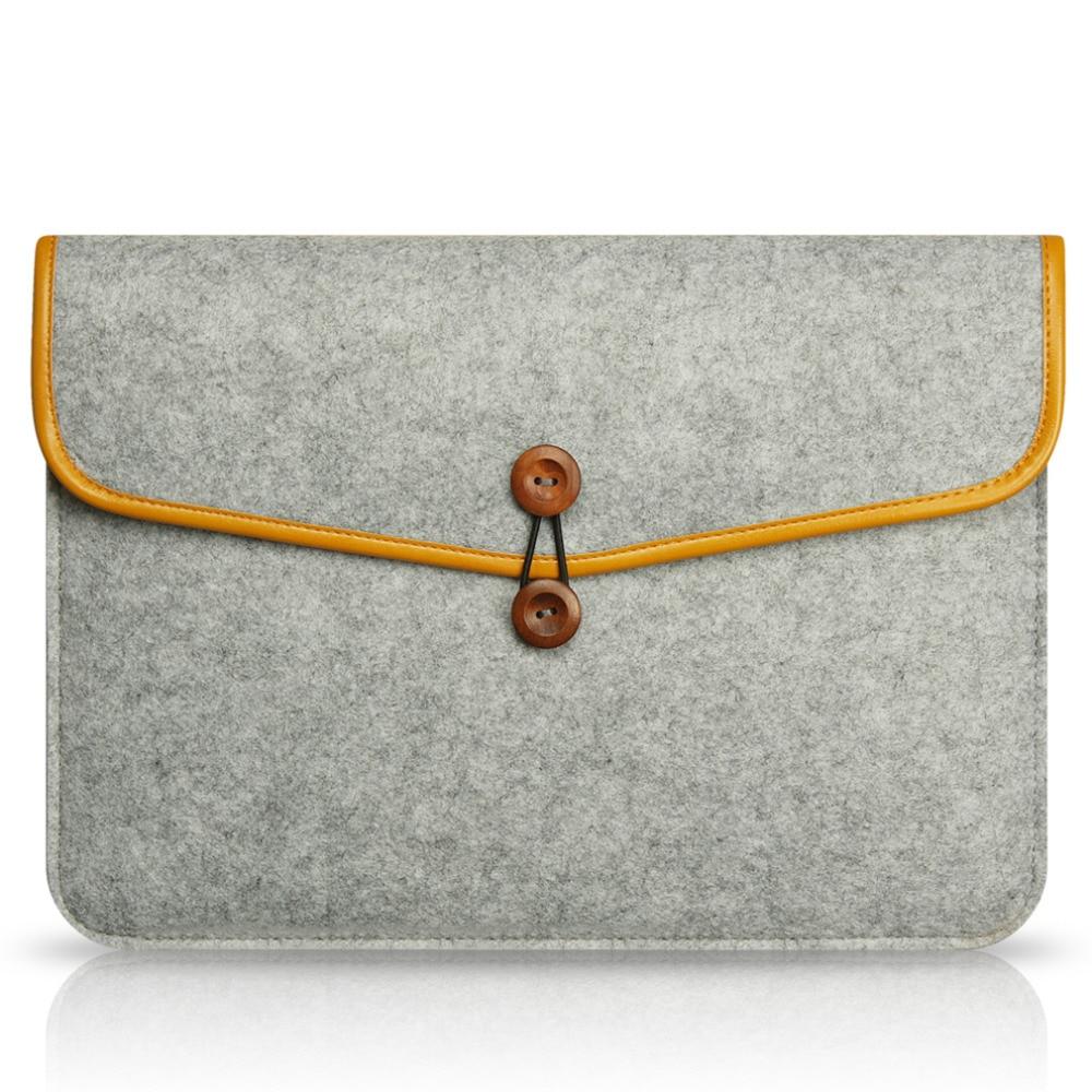 High Quality Notebook Laptop Wool Felt Sleeve Bag for Macbook Air 13.3 Protective Case Computer Bag Laptop Bag Liner Bag