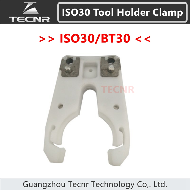 ISO30 BT30 tool holder clamp ABS flame proof rubber tool holder claw forks for cnc router bt30 tool holder clamp for auto tool changer cnc machine bt30 tool holder claw
