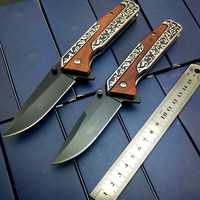 HIGH QUALITY Fold Knife Outdoor Tactical Knife Personalized Engraved Rescue Survival Handmade Knife Gift Knives