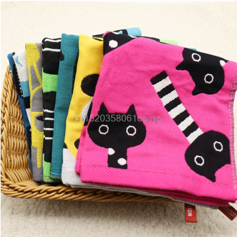 Baby Saliva Towel Infant Kids Handkerchiefs Face Hand Bathing Nursing Towels Drop shipping