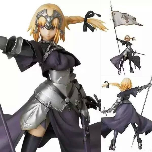 Free Shipping Cool 8 Fate/Apocrypha Jeanne d'Arc Saber Lily Boxed 20cm PVC Action Figure Collection Model Doll Toy Gift free shipping cool 10 black rock shooter blade version miku boxed big size pvc action figure collection model toy gift