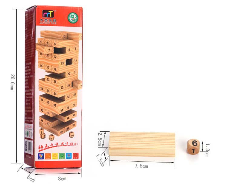 Natural Pine wood baby kids stacking tower games educational Number jenga building block  two packs of jiangsu anhui shipping matsuki eijisa 6l 2 82kg lemon pine natural deodorant