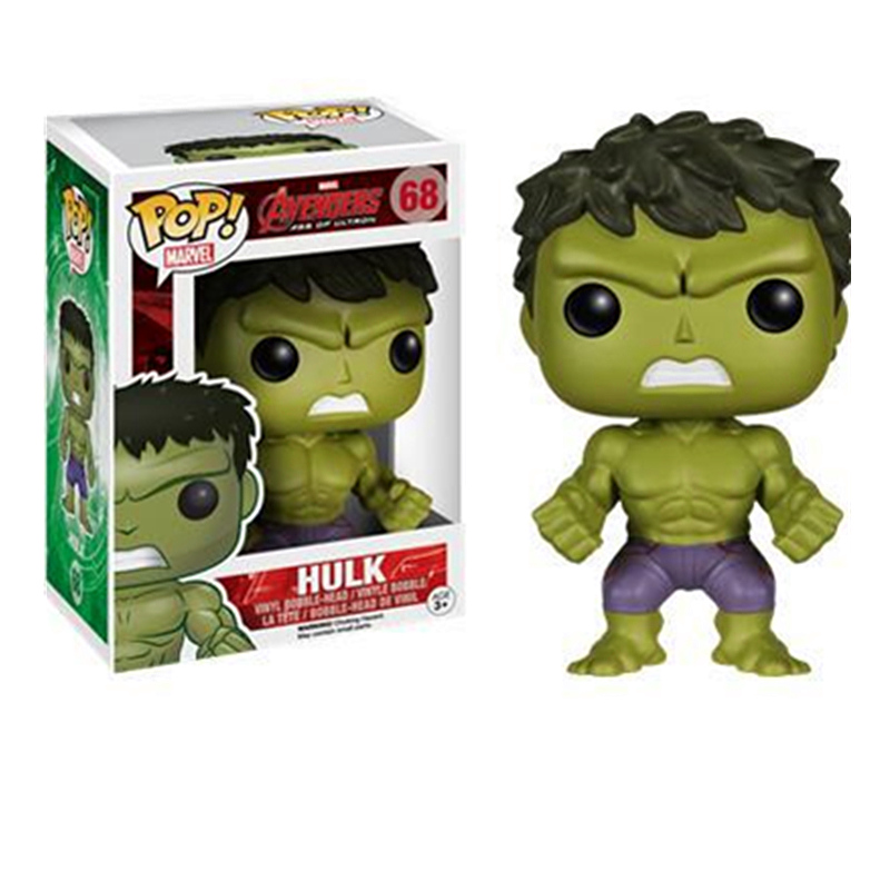 Funko Pop Official Marvel Movie Avengers Hulk Vinyl Homecoming Action Figures Collectible Model Toys For Children Birthday GiftsFunko Pop Official Marvel Movie Avengers Hulk Vinyl Homecoming Action Figures Collectible Model Toys For Children Birthday Gifts