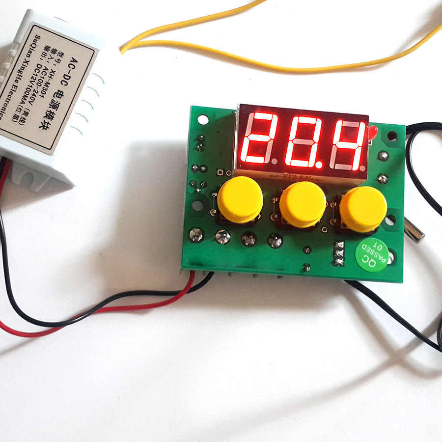 high precision pid controlled temperature controller pwm thermostat  [ 900 x 900 Pixel ]