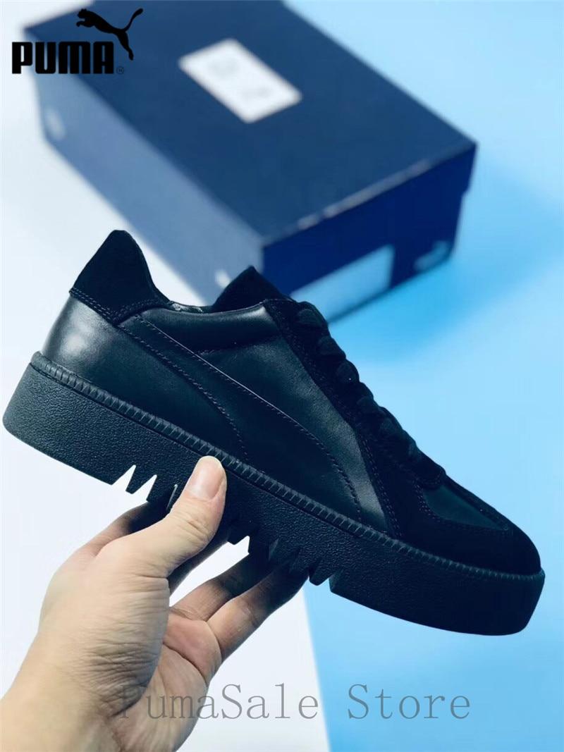 buy popular ea1ab 529dc US $79.98 17% OFF|PUMA X XO Terrains Retro Shoes Unisex Sneaker Leather  Suede Beige Black 368211 02 Retro Serrated Soles Men Women Shoes EUR36  44-in ...