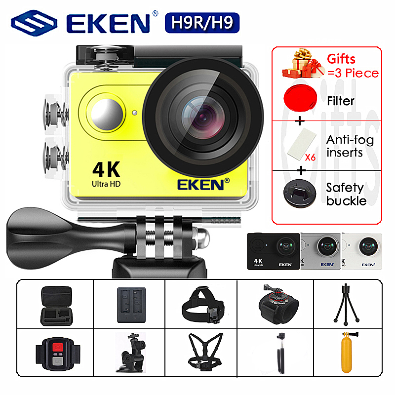 EKEN H9R H9 Action Camera Ultra HD 4K / 30fps WiFi 2.0