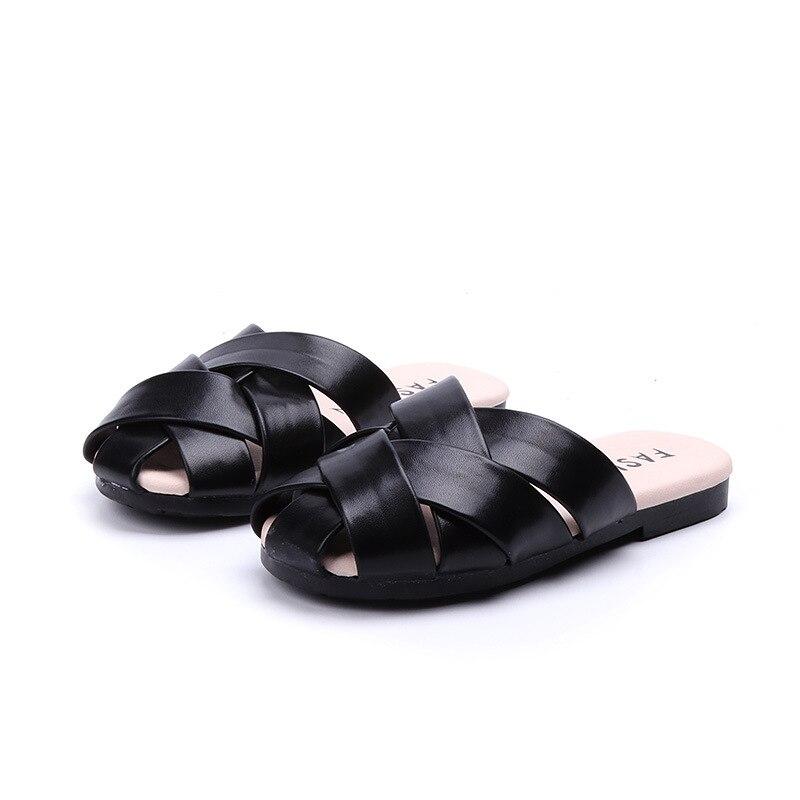 Kids Non-Slip African American Afro Girls Slippers Summer Beach Sandals for Boys Girls